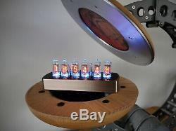 La Genèse 6 Tube Nixie Clock De Bad Dog Designs Main Au Royaume-uni