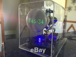 Mini Maison Oscilloscope Horloge Dg7-32 3 Crt À Tube Cathodique Portée Nixie