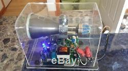 Mini Maison Oscilloscope Horloge Dg7-6 3 Crt Tube À Rayons Cathodiques Portée Nixie