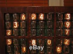 Monjibox Nixie Grand Écran Nixie Jeu Horloge Sudoku Tubes In12