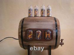 Nixie Clock In14 In12 Tubes Thermomètre Hygrometer Modèle Bacchus Par Monjibox