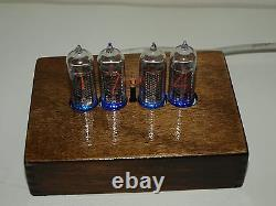 Nixie Horloge Chaude Tubes De Lumière Style Rétro Réveil Calendrier Gratuit Thermomètre