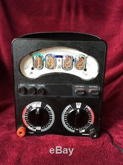 Nixie Horloge De Tube À L'intérieur Avo8 Mètres