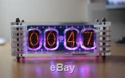 Nixie Horloge De Tube Avec Des Lampes Qui N'ont Pas Été Libérés Depuis 30 Ans In-12