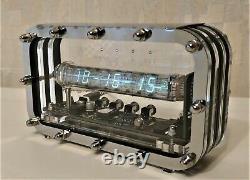 Nixie Horloge Horloge Du Tube Nixie Tube De Main Rétro Vintage Maison Bureau Vfd Iv-18