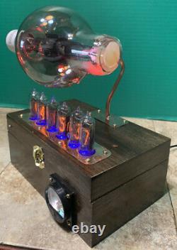 Nixie Horloge In-14 Steampunk. Économie Rca Radiotron 860 Tube. Ezekiel Anneau