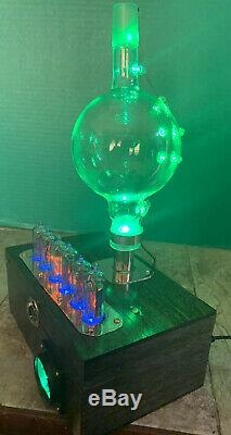 Nixie Horloge In-14 Tube. Le Style Steampunk. Chem Ware Lighted Tube Withezekiel Anneau