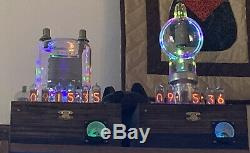 Nixie Horloge In-14 Tube. Le Style Steampunk. Lit Eimac250-th Tube, Avec Ezekiel Anneau