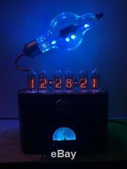 Nixie Horloge In-14 Tube. Le Style Steampunk. Lit Eimac 100 Th Tube. Ezekiel Anneau