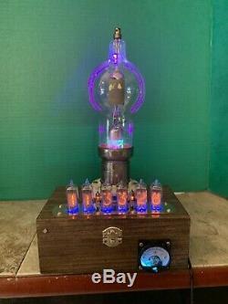 Nixie Horloge In-14 Tube. Le Style Steampunk. Lit Eimac 250th Tube. Ezekiel Anneau