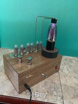 Nixie Horloge In-14 Tube. Le Style Steampunk. Lit Kellogg 401 Tube. 4 Kv, 1,7k Base Amp