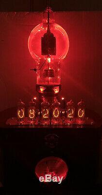 Nixie Horloge In-14 Tube. Steampunk. Lit Jan-ckh-250-th Heintz & Kaufmann & Ring