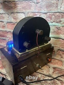 Nixie Horloge In-14 Tubes. Cuivre Steampunk, Laiton Et Verre! Vintage Weston 264