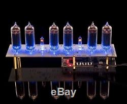 Nixie Horloge In-14 Tubes Machine À Sous Usb Musicale (comp Arduino) Avec Tuyaux