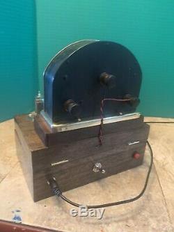 Nixie Horloge In-14 Tubes. Steampunk Cuivre, Laiton Et Verre! Vintage Weston 264