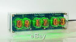 Nixie Horloge Tube Avec 6x In-12 Montre Steampunk Vintage Unique