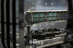 Nixie Horloge Tube De Glace Iv-18 Vfd Cadeau Vintage De Vacances Steampunk Montre Horloge De Bureau