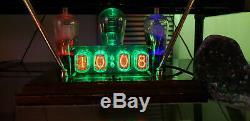 Nixie Horloge Tube In-12 Assemblé Avec Des Tubes Fallout Steampunk Vintage