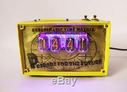 Nixie Horloge Tube In-12 Man Grotte Fallout Shelter Vault Retro Vintage Steampunk
