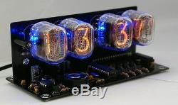 Nixie Horloge Tube Kit Avec Des Tubes D'alarme Led In-12 Pas Inclus
