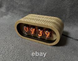 Nixie Horloge Tube Nixie Horloge En Bois Nixie Horloge Rétro In-12 Nixie