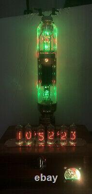 Nixie In-14 Tube Steampunk Horloge. Tube De Tungar De Mystère, Ammètre Japonais Mignon