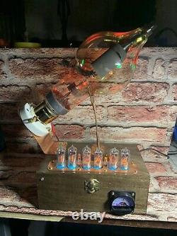Nixie In-14 Tube Steampunk Horloge. Westinghouse 450th 15 Rgbs Changer Les Couleurs