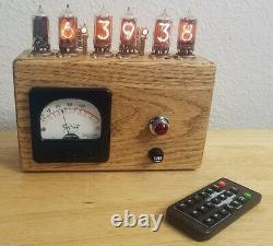 Nixie Neon Tube Horloge Avec Télécommande