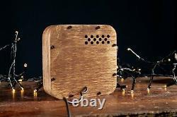 Nixie Röhren Uhr 4x Jahrgang Retro Uhr Röhre Tischuhr Nixie Tube Horloge Iv-16
