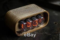 Nixie Tube Clock / Horloge Nixie / Vintage / Retro / Horloge De Table