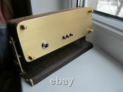 Nixie Tube Clock In-12 Retro Vintage Steampunk. Enceinte En Bois. Meilleur Cadeau