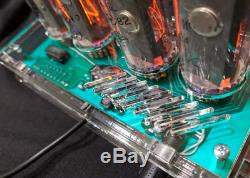 Nixie Tube Clock In-18 Date Température Vintage Gaz Décharge.lampe Horloge