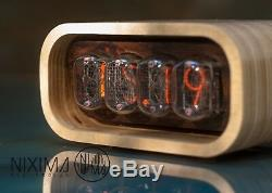 Nixie Tube Clock / Nixie Horloge / Vintage / Rétro / Horloge De Table