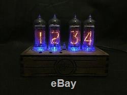 Nixie Tube Clock Pulsar In-14 Usb 4 Tubes