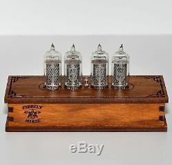 Nixie Tube Clock Renouvelables-14 Nixie Tubes, Capteur De Mouvement, Effets Visuels