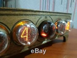 Nixie Tube D'horloge In4 Decatron Og4 Adaptateur Assemblé Par Retroclock