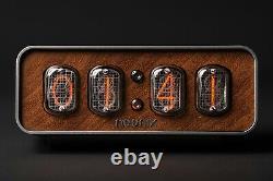 Nixie Tube Horloge Neonix 412 Avec Panneau Avant Personnalisable
