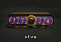 Nixie Tube Horloge Pulsar In-4 + Decatron Gps Usb
