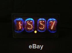 Nixie Tube Horloge Vintage Pulsar In-12 Usb 4 Tubes