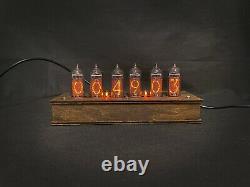 Nixie Tube Horloge Vintage Pulsar In-14 6 Tubes