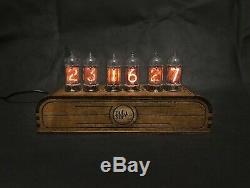Nixie Tube Horloge Vintage Pulsar Z570m Rgb Assemblé Adaptateur 6-tubes