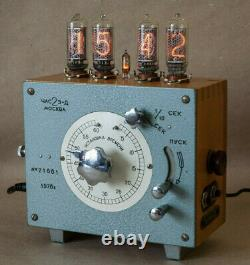 Nixie Tube Steampunk Bureau Wallmount Horloge Main Vintage Retro Fallout Cadeau