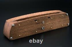 Nixie Tubes Clock In-4 Case Oak Case Format 12/24h Temp F/c Machine À Sous