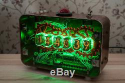 Nixie Tubes Steampunk Bureau Réveil Main Rétro Fallout Cadeau