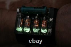 Nixie Vfd Numitron Era Montre-bracelet Horloge Iv-9 Ou Iv-16 Date Temparature Display