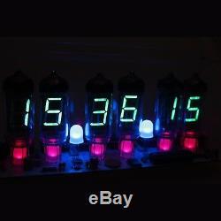 Nixt Horloge Diy Kit Avec Tubes Et Cas Iv-11 Vfd Horloge Ère D'horloge Nixie