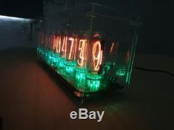 Nixt Horloge In18 Nixie Horloge Horloge Numérique Avec Alimentation Étui Rigide Kit De Bricolage