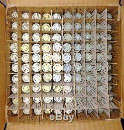Nos Lot De 100 Pièces-14 Vintage Urss Nixie Tubes Pour L'horloge Testé / Une Partie
