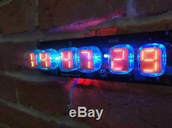 Numitron Iv-19 Horloge Nixie Era Tubes À Distance Température Humidité Pression