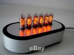 Pj600 Série Nixie Horloge Tubes In16 Boîtier En Aluminium
